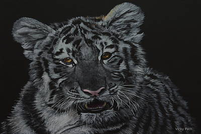 Painting - Siberian Tiger by Vicky Path