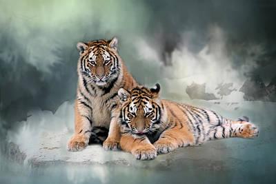Photograph - Siberian Twins by Inge Riis McDonald