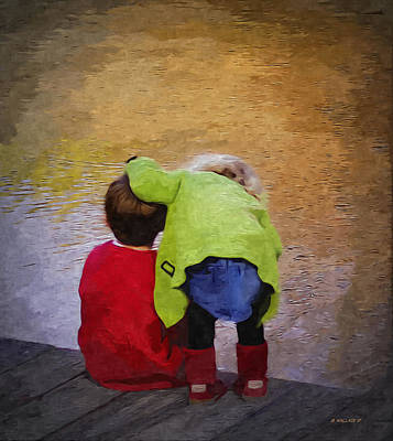 Sibling Love Art Print by Brian Wallace