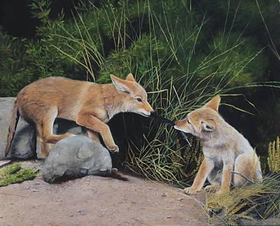 Painting - Sibling Rivalry by Tammy Taylor