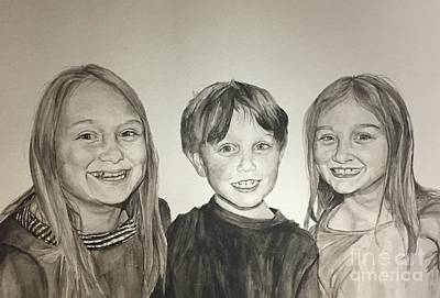 Painting - Siblings by Tamir Barkan