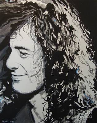 Led Zeppelin Painting - Sibly by Stuart Engel