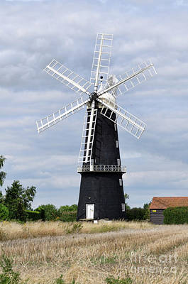 Photograph - Sibsey Trader Windmill by Steev Stamford