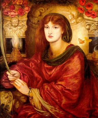 Painting - Sibylla Palmifera by Dante Gabriel Rossetti