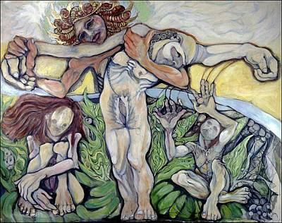 Painting - Sic Transit Gloria Mundi.  by Michelle Spiziri