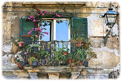 Sicilian Balcony Art Print