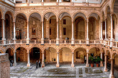 Photograph - Sicilian Parliament Bldg by Patrick Boening