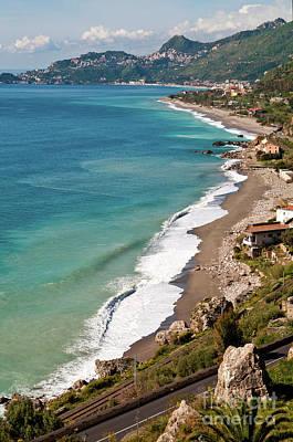 Sicilian Sea Sound Art Print