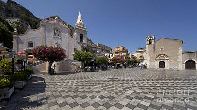 Sicily Photograph - Sicily Taormina by Wolfgang Steiner