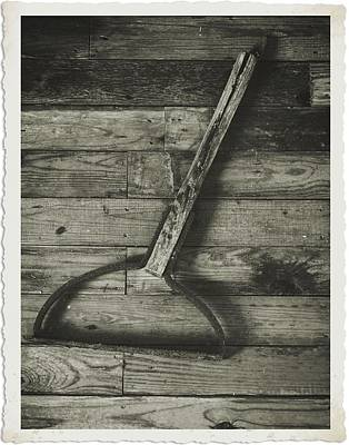 Photograph - Sickle Black And White by Charles McKelroy