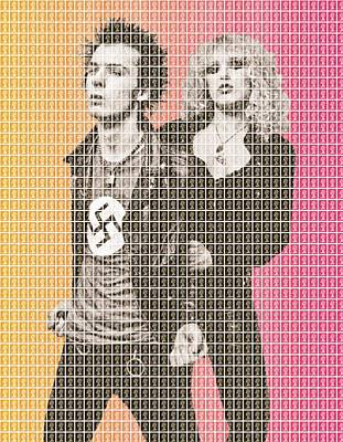 Sid Vicious Painting - Sid And Nancy by Gary Hogben