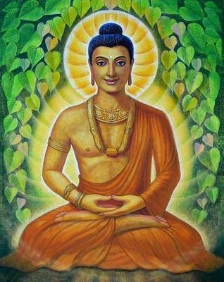 Painting - Siddhartha by Sue Halstenberg