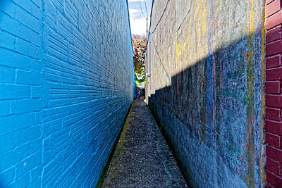 Photograph - Side Alley by Scott Hill
