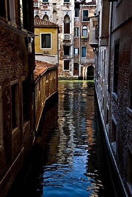 Side Canal Art Print