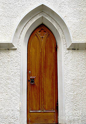 Photograph - Side Door At The Cathedral by Ethna Gillespie