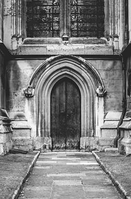 Photograph - Side Door Bw by Christi Kraft