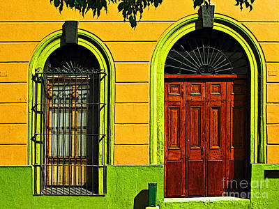 Side Door By Darian Day Art Print by Mexicolors Art Photography