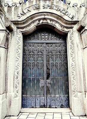 Photograph - Side Door Of The Culture Palace by Erika H