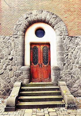 Photograph - Side Door Of The Prefecture Palace by Erika H