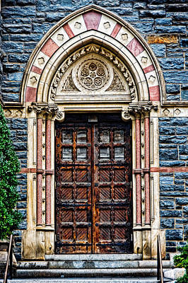 Side Entrance Art Print by Christopher Holmes