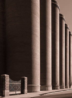 Lemp Brewery Photograph - Side Gate by Scott Rackers