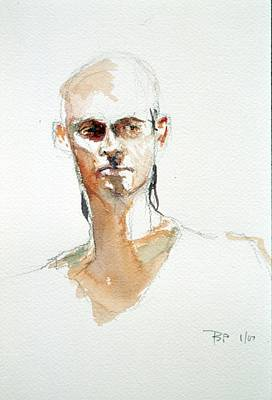 Painting - Side Glance by Barbara Pease