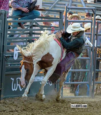 Photograph - Side Saddle by Jeff Kurtz