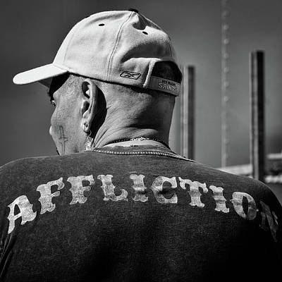 Photograph - Side View Of Affliction by Robin Zygelman