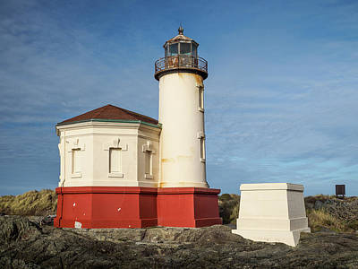 Photograph - Side View Of Coquille River Lighthouse by Greg Nyquist