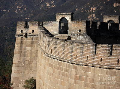 Photograph - Side View Of The Great Wall by Carol Groenen