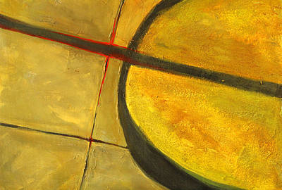 Painting - Side Walking Abstract Painting by Nancy Merkle