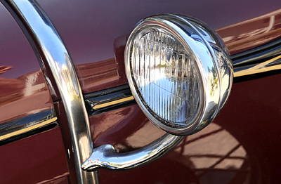 Ford Automobile Photograph - Sidelight by Dan Holm