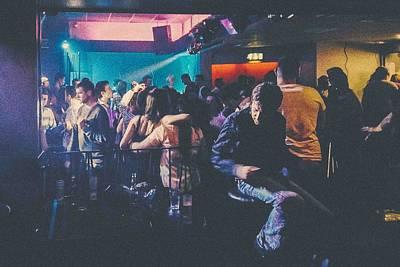 Dancefloor Photograph - Sideline Finger Snapper by Ashley Jarman