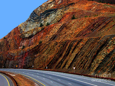 Sideling Hill Maryland Art Print by Thomas R Fletcher