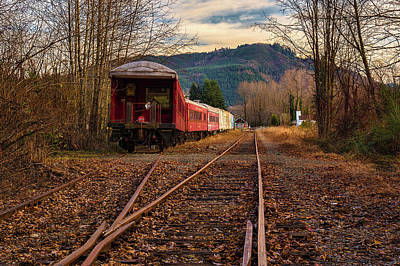 Photograph - Sidetracked by Thomas Hall