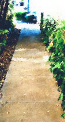 Digital Art - Sidewalk Chalk by Aliceann Carlton