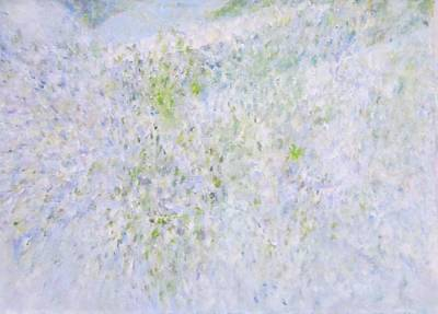 Painting - Sidewalk Lavender by Glenda Crigger