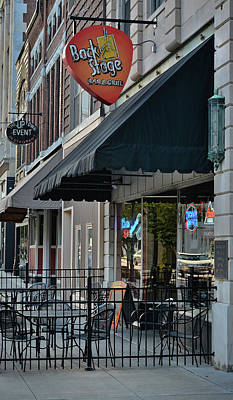 Photograph - Sidewalk Respite - Bar And Grill by Greg Jackson