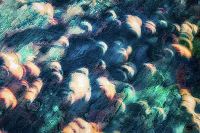 Photograph - Sidewalk Solar Eclipse by James Barber