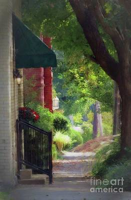 Photograph - Sidewalk Stroll Iv by Desiree Paquette