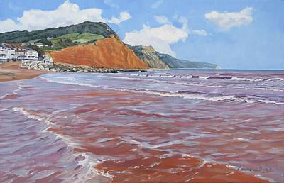 Painting - Sidmouth by Lawrence Dyer