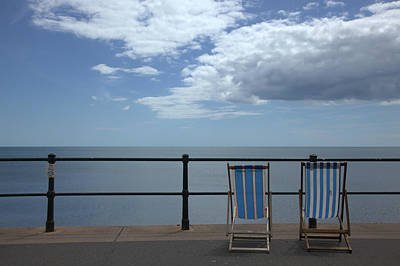 Photograph - Sidmouth Sea Front by Mike Finding