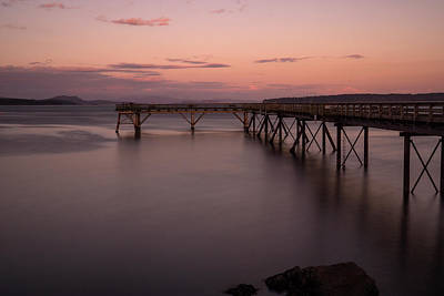 Photograph - Sidney Bc Pier by Inge Riis McDonald