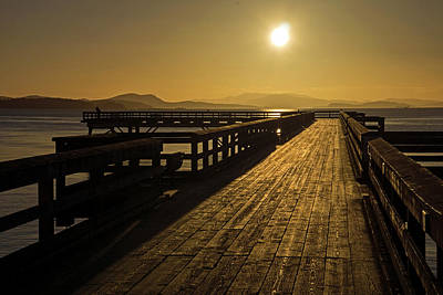 Photograph - Sidney Pier by Inge Riis McDonald