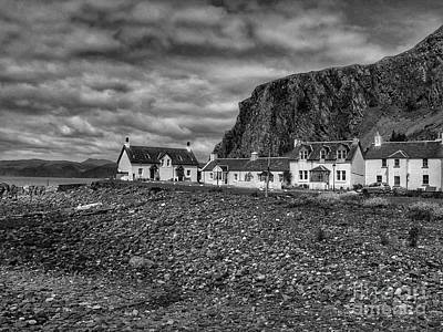 Photograph - Siel Island Of The Atlantic In Monochrome by Joan-Violet Stretch