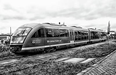 Photograph - Siemens Commuter Train by Anthony Dezenzio