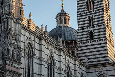 Photograph - Siena Cathedral And Duomo  by John McGraw