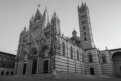 Photograph - Siena Cathedral At Sunrise  by John McGraw