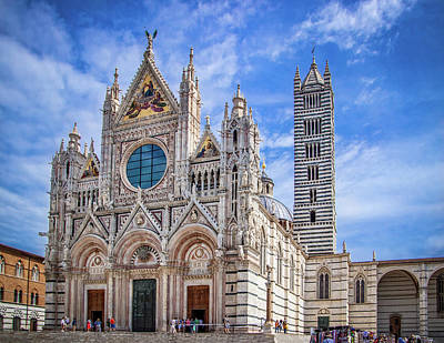 Photograph - Siena Cathedral by Carolyn Derstine