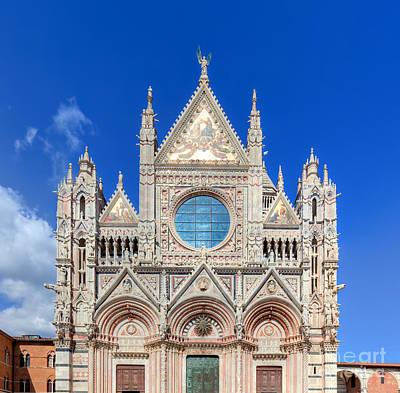 Building Photograph - Siena Cathedral, Duomo Di Siena In Siena, Italy by Michal Bednarek
